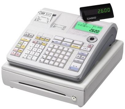 中古レジ カシオTE-2600